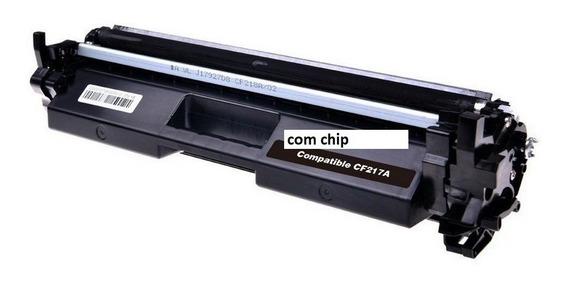 Toner Compatível Cf217a 217a 17a M130 M102 Com Chip