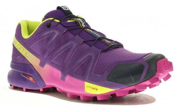 Zapatilla Salomon Speedcross 4 Mujer Trail Running 383103