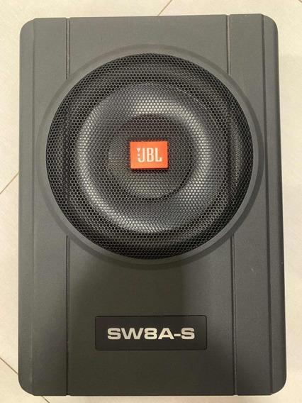 Caixa Amplificada Jbl Slim 8 Sw8a-s 2ch Ativos