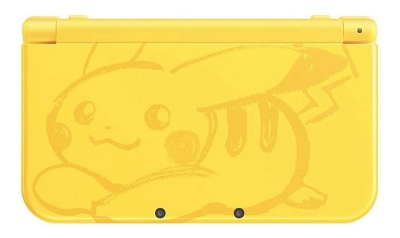 Nintendo New 3DS XL Pikachu Yellow Edition amarelo