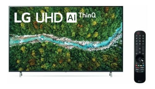 Imagen 1 de 8 de Televisor LG 65up7750psb 65 Pulgadas Uhd Ai Thinq Magic Remo