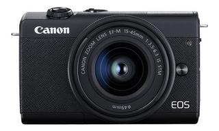 Camara Canon Eos M200 15-45mm 24,1 Mpx Pantalla 3´´ Video 4k