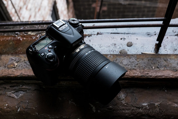 Nikon D7100 Kit 18-105m Caixa, Bateria, Carregador Manual