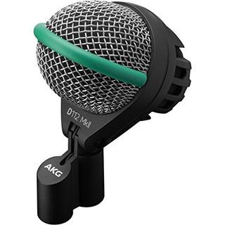 Akg D112 Mkii Profesional Microfono Dinamico Para Bombo Con