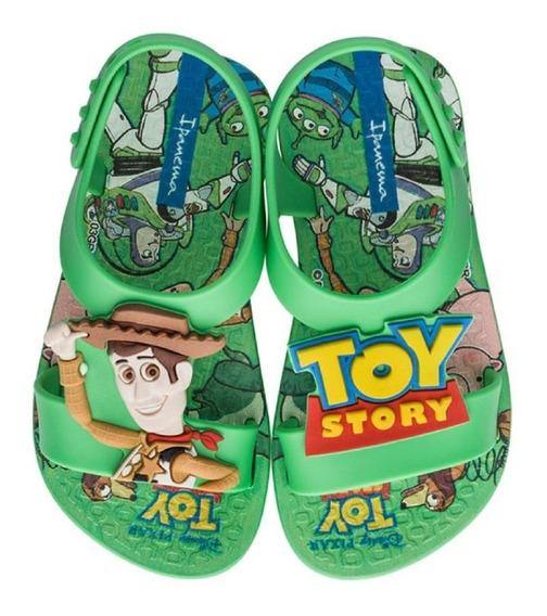 Sandália Menino Toy Story Verde Disney Ipanema 26359 Clique+