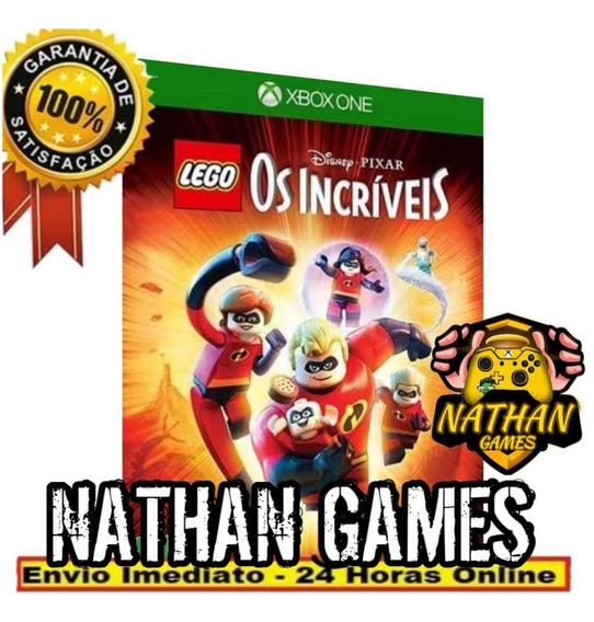 Lego Os Incríveis - Xbox One (mídia Digital) + Brinde