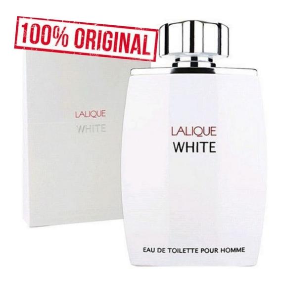 Perfume Importado Lalique White Eau De Toilette Pour Homme