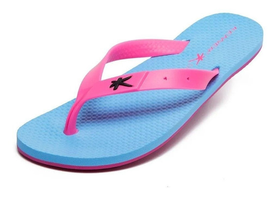 Sandália Kenner Summer Hero Tuh 2 Azul/rosa