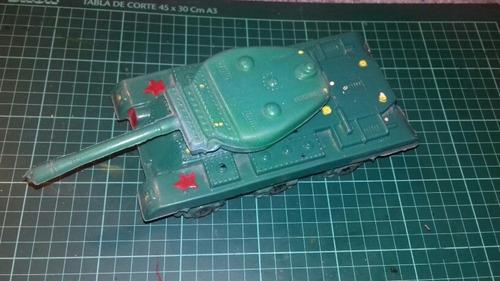 Tanque De Guerra Antiguo Plástico Soplado De Los 70 Retro