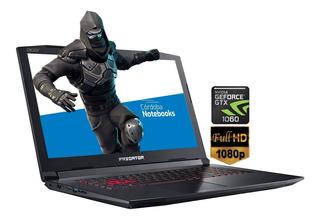 Acer Predator Helios 8750h 16gb 256ssd 15.6 Gtx 1060 6gb