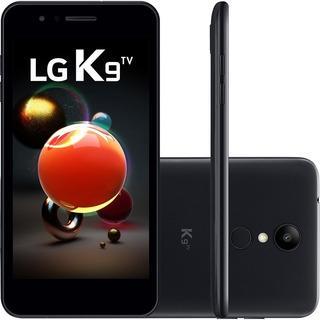 Smartphone Lg K9 Tv Dual Chip Android 7.0 Tela 5 - Preto