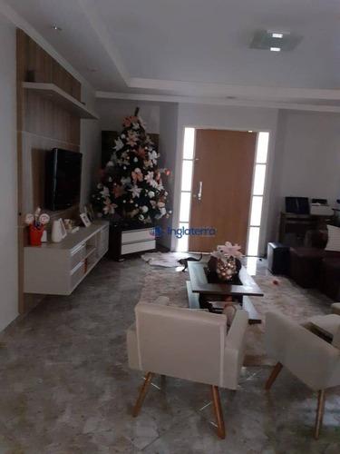 Casa Com 4 Dormitórios À Venda, 165 M² Por R$ 430.000 - Monte Belo - Londrina/pr - Ca1317