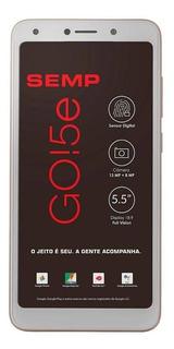 Semp GO! 5e Dual SIM 16 GB Ouro 1 GB RAM