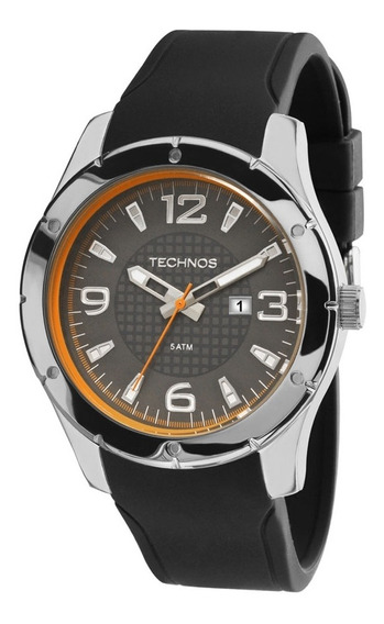 Relógio Masculino Technos Racer 2115mlf/8c - Prata/preto