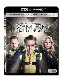 4k Ultra Hd + Blu-ray X-men First Class Primera Generacion