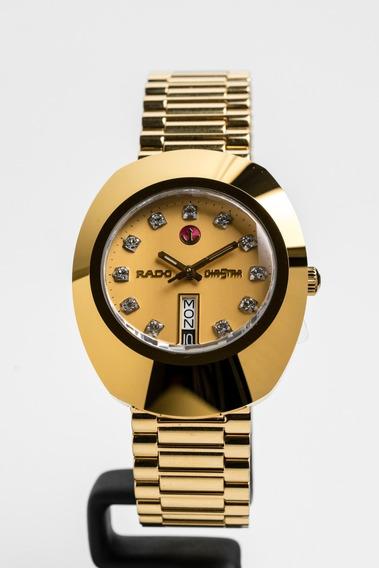 Reloj Rado Original Diastar Gold Caballero R12413493