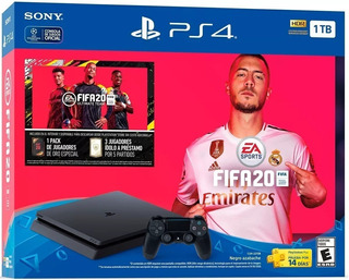 Consola Ps4 1tb Slim 1.000gb + Fifa 10 Envio Gratis