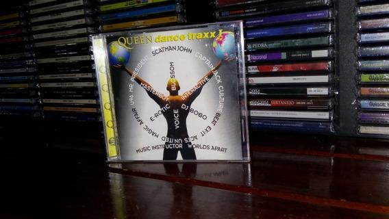Cd Queen Dance Traxx I - Scatman - Dj Bobo - Mr President +