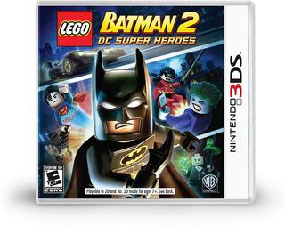 Lego Batman 2 Dc Super Heroes - Nintendo 3ds (físico) Id