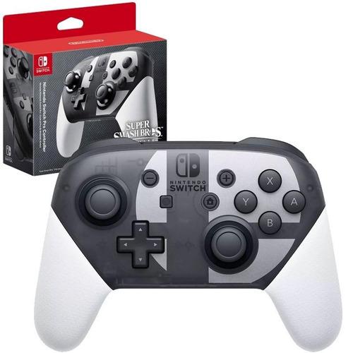 Controle Nintendo Switch Pro Smash Bros Edition Original