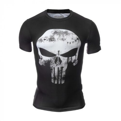 Playera De Compresion Hombre Punisher Vegeta Y Super Heroes