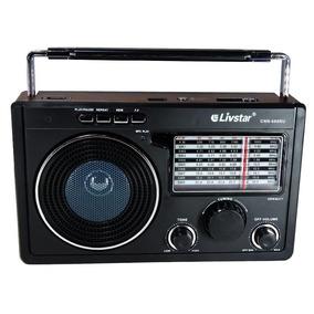 Radio Portatil Livstar Cnn-686bt Radio/usb/sd/bluetooh