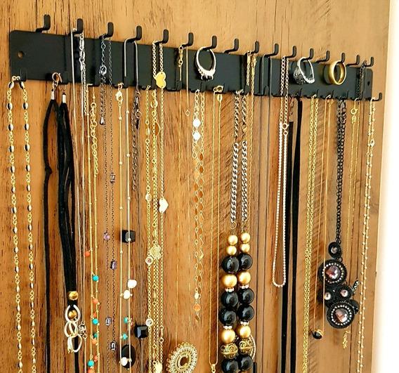 Porta Colares E Anéis Organizador Kit 3 Peças Super Prático