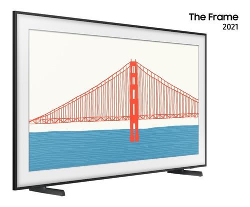 Imagem 1 de 10 de Smart Tv Samsung 55  Qled 4k The Frame 21 55ls03a Modo Arte