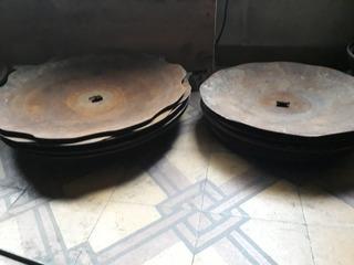 Disco De Arado 50cm Floreados (consulte Por Otras Medidas)