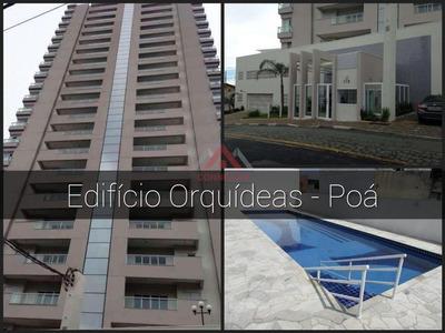 Apartamento Residencial À Venda, Centro, Poá - Ap0572. - Ap0572