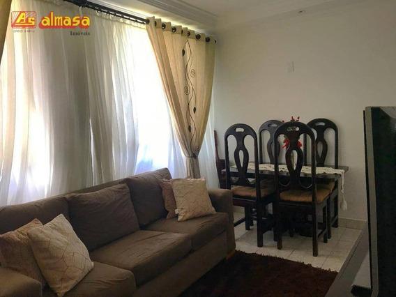 Apartamento Com 2 Dormitórios À Venda, 55 M² Por R$ 235.000 - Jardim Tranqüilidade - Guarulhos/sp - Ap0431