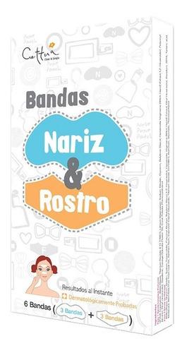 Bandas Cettua Nariz Y Rostro X 6und