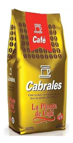 Cafe Molido Cabrales La Planta 1kg Torrado