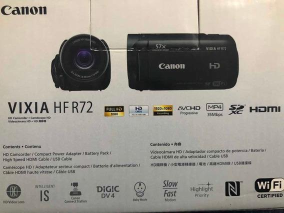 Filmadora Canon Vixia Hf R72 Para Live Melhor Que R800