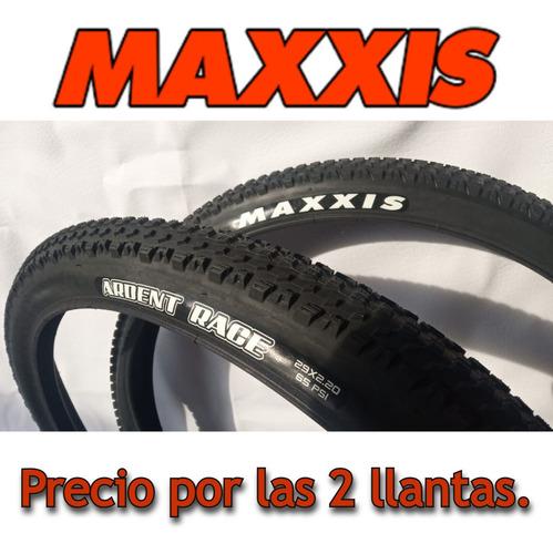 Imagen 1 de 7 de 2 Llantas Maxxis Ardent Race 29*2.20. Talón Convencional.