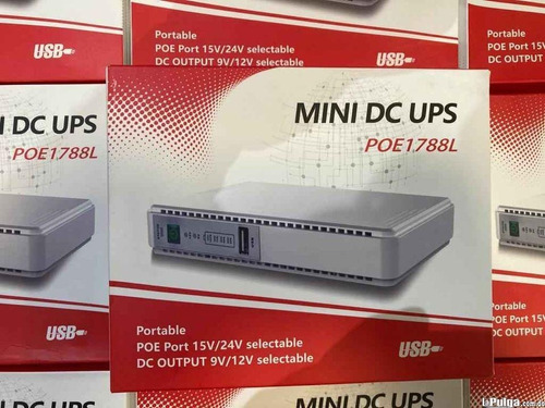 Mini Ups Dc Con Salida Poe 24v