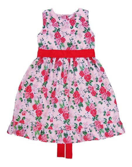 Vestido Nena - Niñas Flores Talles 2 Al 10
