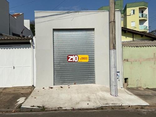 Imagem 1 de 6 de Salão Comercial - Vila Giorgina - At 21m², Salão C/01 Banheiro. Excelente Localização - Z10 Imóveis - Indaiatuba/sp. - Sl01108 - 69816218