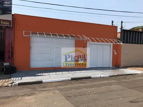 Salão Comercial À Venda Com 180 M² - Jardim Santana - Hortolândia/sp - Sl0758