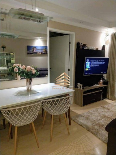 Imagem 1 de 30 de Apartamento No Condomínio Premium Guarulhos, 2 Dormitórios, 1 Suíte, 1 Vaga. - Ap0971