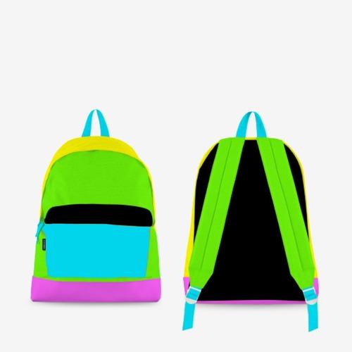 Mochila Grande Colourfull Fanpack