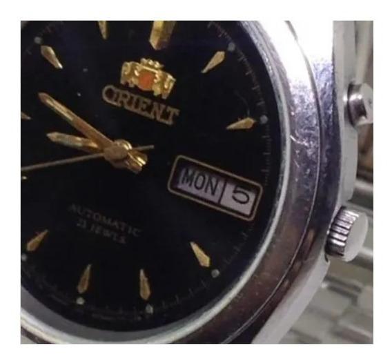 Relógio De Pulso Orient Masculino Automático U04686 Webclock