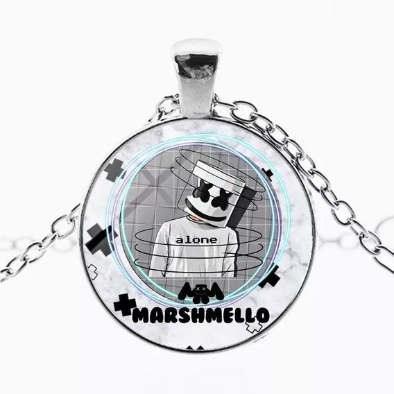 Hermoso Collar Dj Marshmello Música Electrónica Mellogang Pl