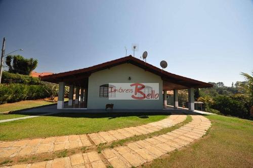 Chácara Com 5 Dormitórios À Venda, 2156 M² Por R$ 1.300.000,00 - Sítio Da Moenda - Itatiba/sp - Ch0288