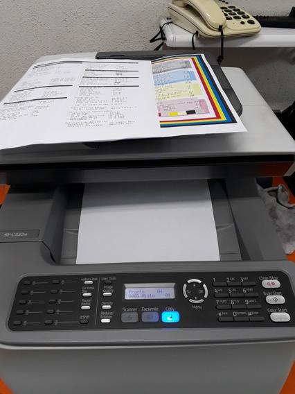 Copiadora Multifuncional Colorida Ricoh Spc 232sf Completa