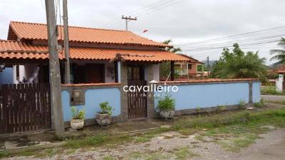 Casa Com 2 Dormitórios À Venda, 84 M² Por R$ 320.000 - Ponta Negra (ponta Negra) - Maricá/rj - Ca3466