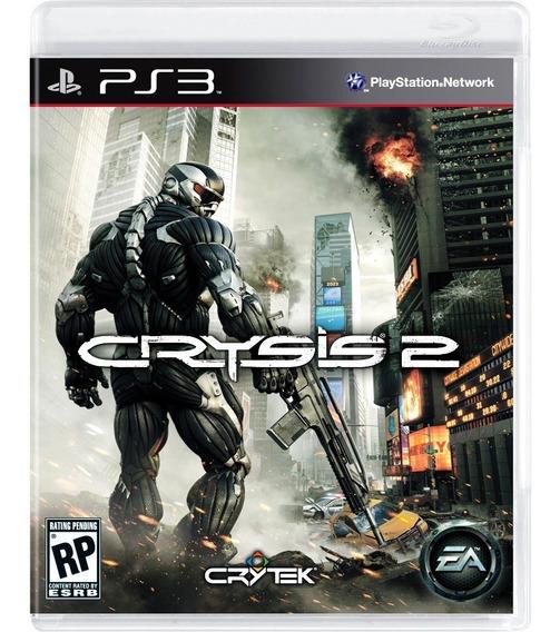 Game Play3 - Crysis 2 - Semi-novo Jogo Ps3