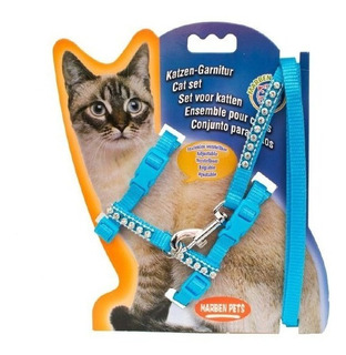 Arnes Para Gato Ajustable Con Brillos / Tienda Pharmavet