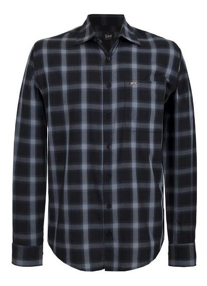 Camisa Casual Lee Hombre Manga Larga H42