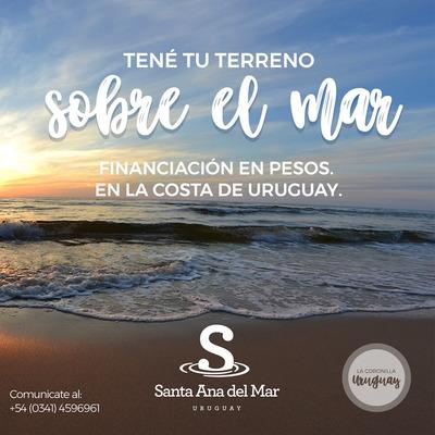 Terrenos En Uruguay Sobre El Mar- Zona Virgen - Financiación